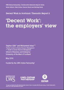 Cover DW Employers